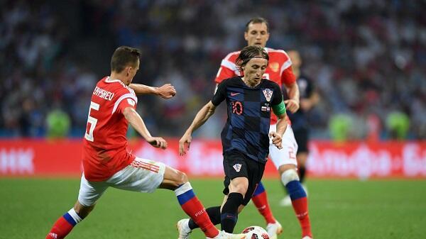 Top Player of the Match Rusia vs Kroasia: Luka Modric