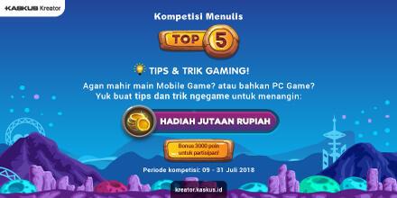 Ente Bagi Tips & Trik Main Game, Ane Kasih Hadiah!