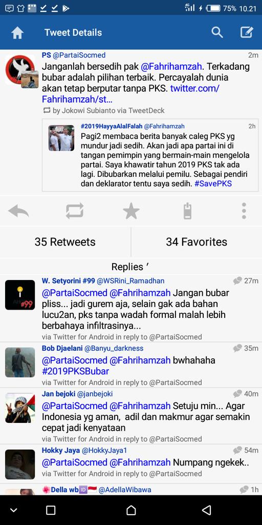 Fahri Hamzah Khawatir PKS Tak Ada Lagi Tahun 2019