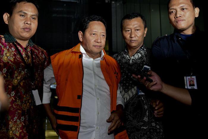 Cagub tahanan KPK menang di Maluku Utara