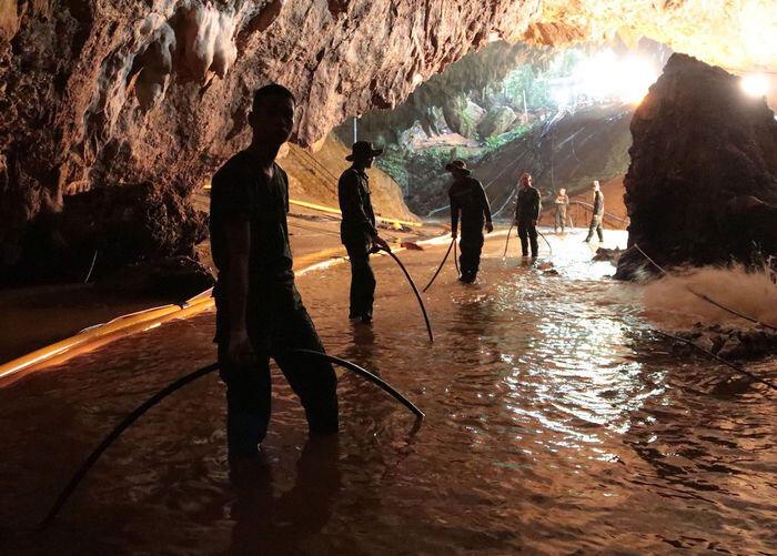 4 Selamat, 9 masih terjebak di gua Thailand