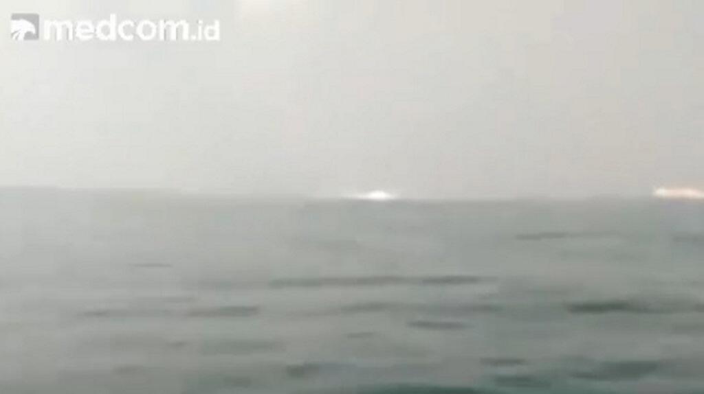 Pipa Gas Bawah Laut di Serang Bocor