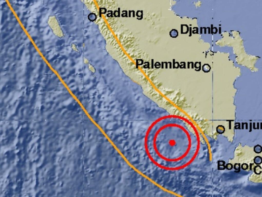 Lampung Diguncang Gempa 5,2 SR