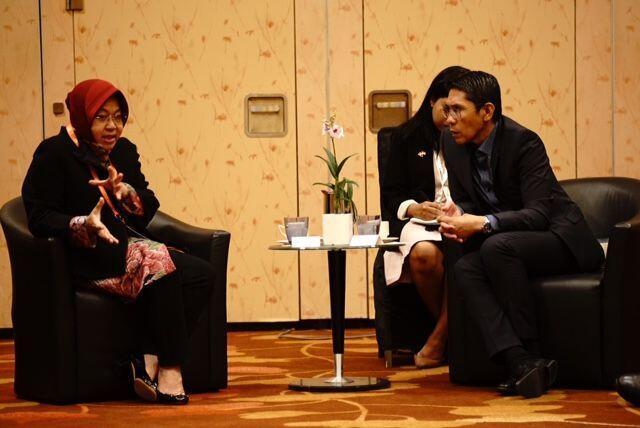 Risma Jalin Tiga Kerjasama Ini dengan Singapura