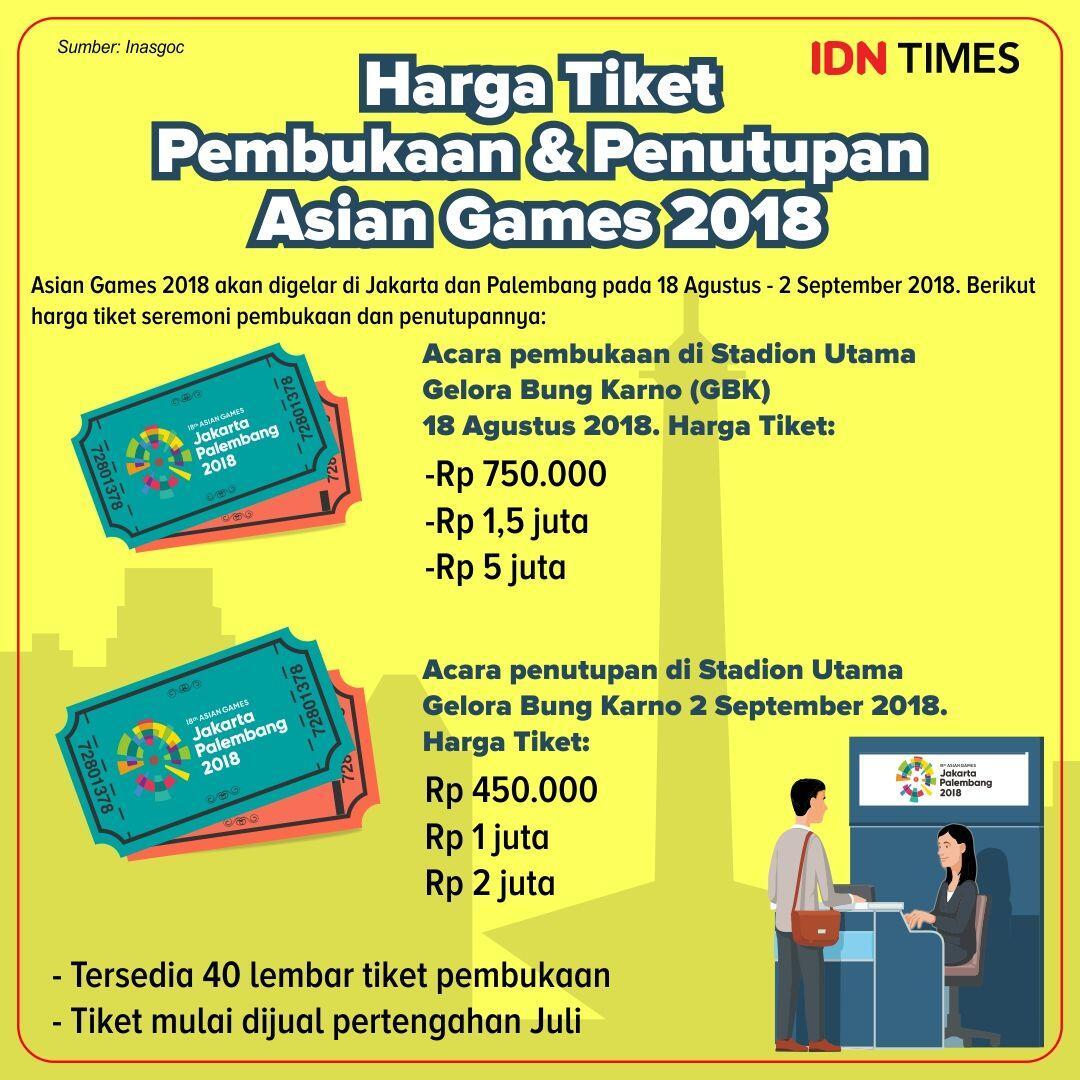 Begini Megahnya Panggung Asian Games 2018, Ada Gunungnya Lho!