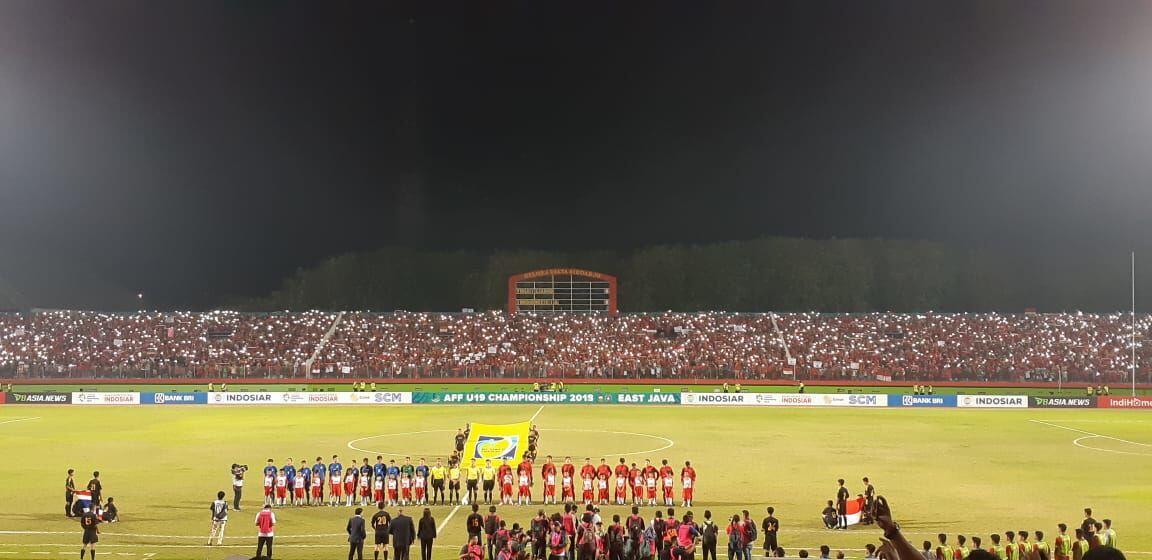 Thailand Beri Kekalahan Pertama untuk Timnas U-19