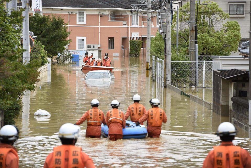 Banjir dan Longsor Sapu Jepang, Puluhan Orang Dilaporkan Tewas