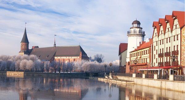 10 Pesona Kaliningrad, Kota Kecil Tempat Lahirnya Filsuf Immanuel Kant