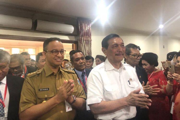 Luhut Mengenang Jadi Timses Jokowi-Jusuf Kalla, Reaksi Anies...