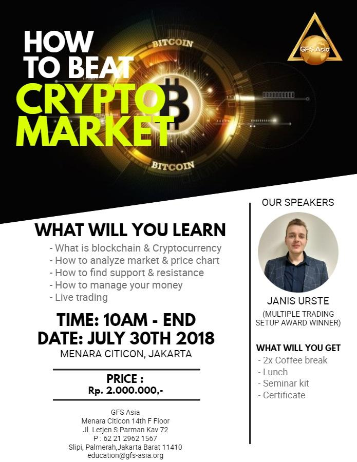 Workshop How to beat Crypto Market