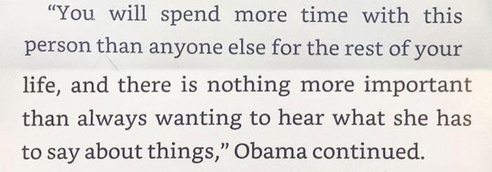 3 pertanyaan penting yang harus dikaji sebelum menikah versi Barack Obama.