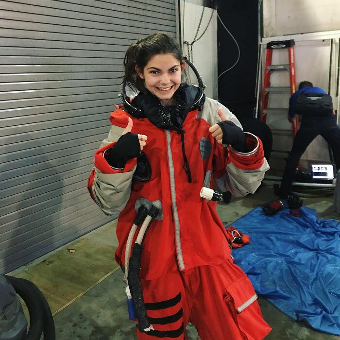 Alyssa Carson. Perempuan termuda pertama yang dilatih NASA untuk ke Mars tahun 2033.