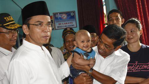 TGB ke Luhut soal Dukung Jokowi: Yang Salah Apa, Bang?
