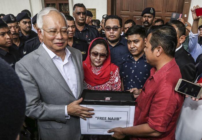 Gerakan solidaritas bersama untuk Najib Razak