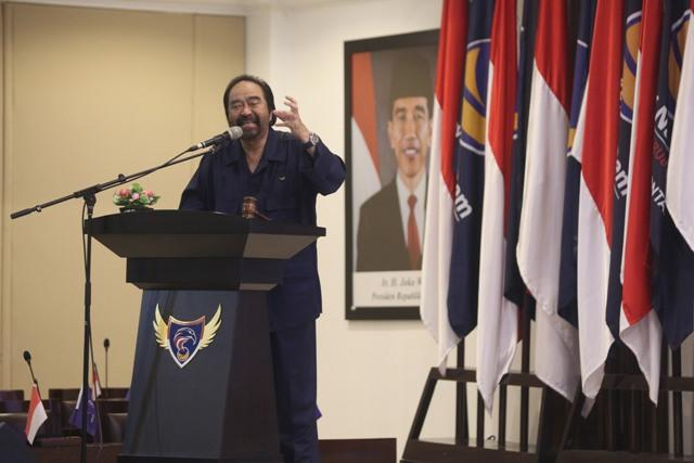 Surya Paloh Pastikan Jokowi segera Umumkan Cawapres
