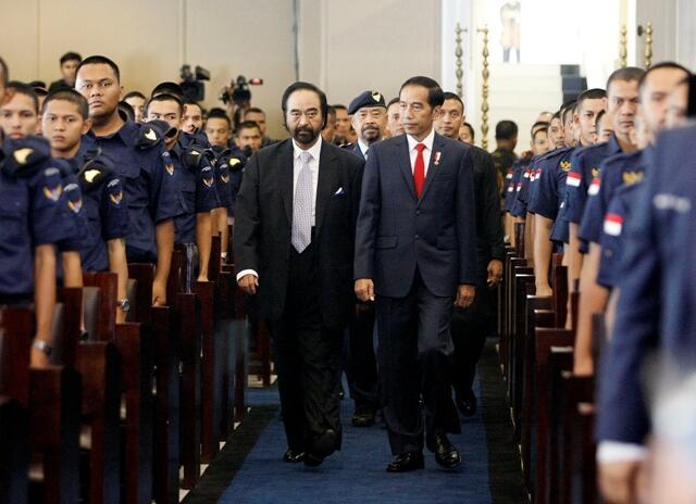 Surya Paloh Doakan Jokowi dapat Cawapres yang Tepat