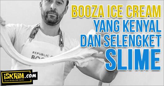 Mengenal Booza Ice Cream Dari Turki, yang Selengket Slime!