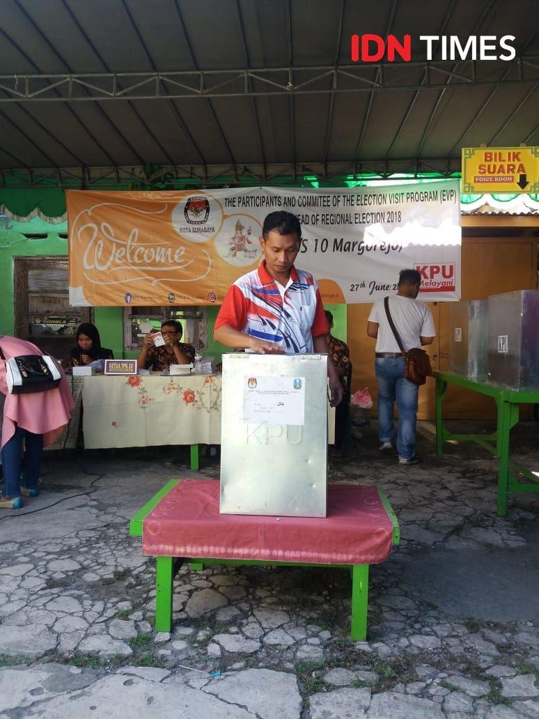 Peta Pemenangan Pilkada di Pulau Sumatera