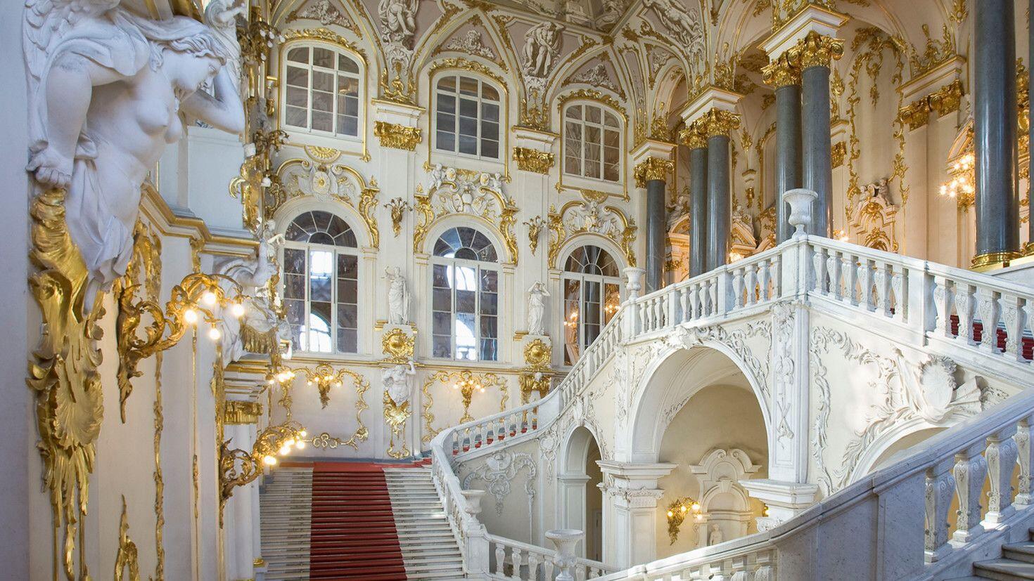 Mengintip Museum Tertua di Rusia, Hermitage St. Petersburg