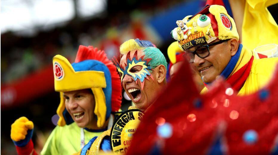 Foto: Begini Totalitas Suporter Piala Dunia 2018