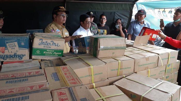 Kemensos Serahkan Bantuan Korban KM Sinar Bangun Rp3 Miliar