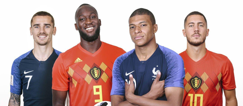 3 Rekam Jejak Pertemuan Prancis Vs Belgia di Turnamen Internasional