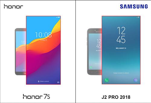 Duel Smartphone Murah dari China dan Korea : Honor 7S vs SAMSUNG J2 Pro 2018!