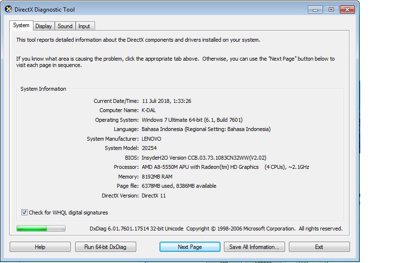 laptop lenovo BCOD setelah buka steam (HELP)