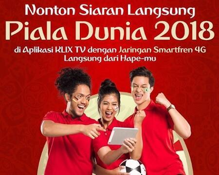 Asiknya Streaming Final Piala Dunia 2018 Ditemani Cewe Cantik!
