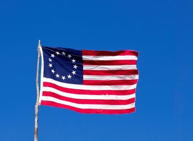 Cerita-Cerita kurang populer dibalik keberadaan bendera nasional Amerika Serikat.