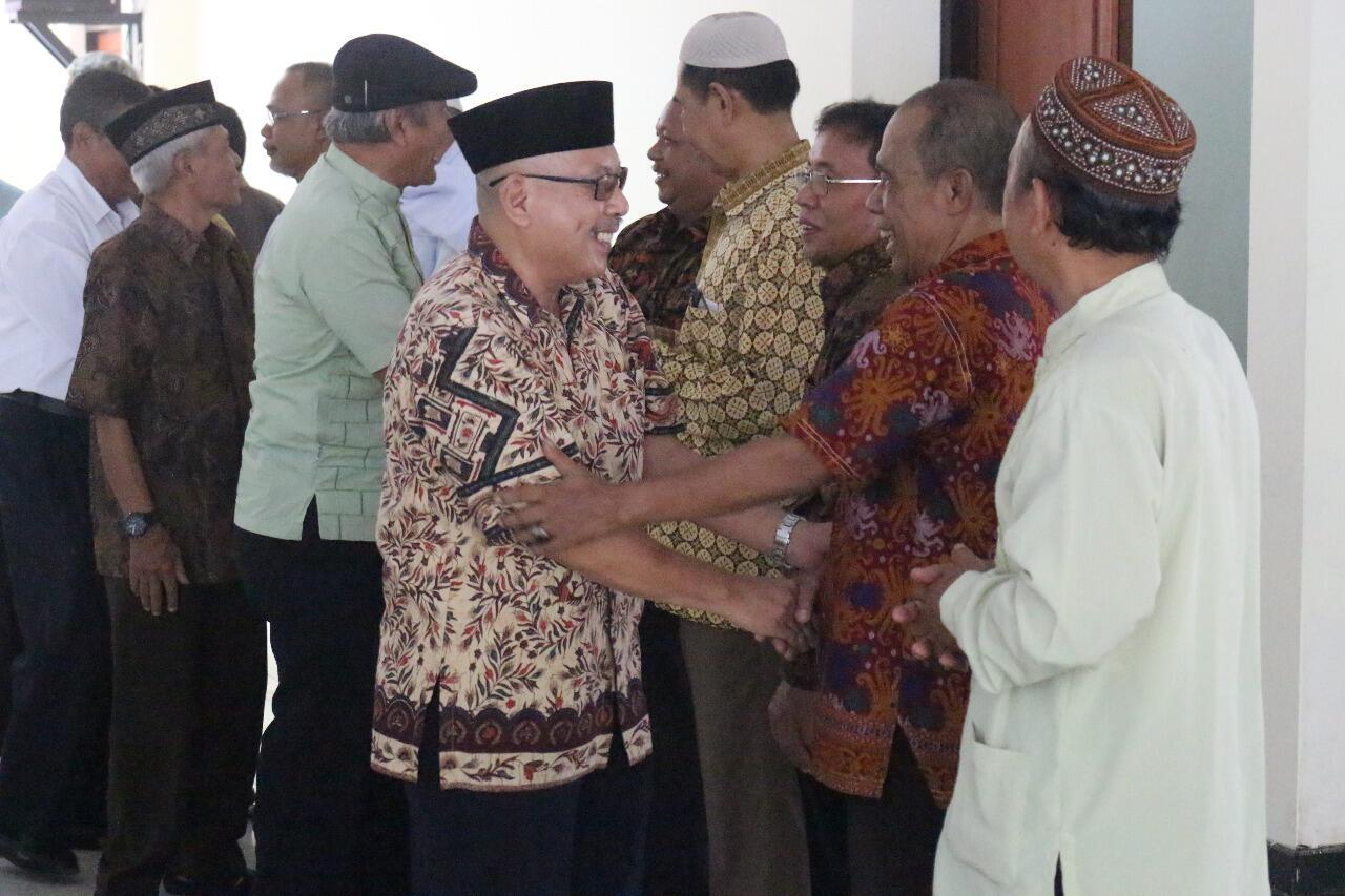 Jaga Hubungan Baik, Pegawai Purnabakti Dinsos Gelar Halalbihalal