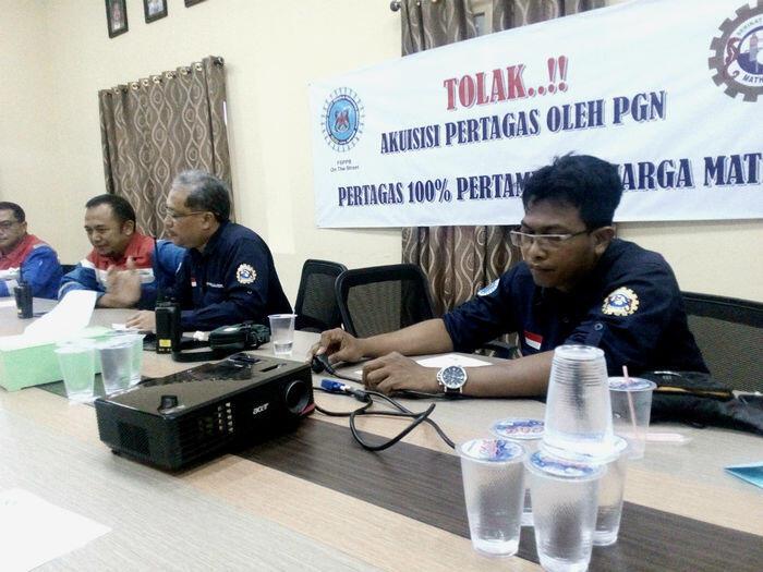 Serikat Pekerja Pertamina tolak akuisisi PGN ke Pertagas