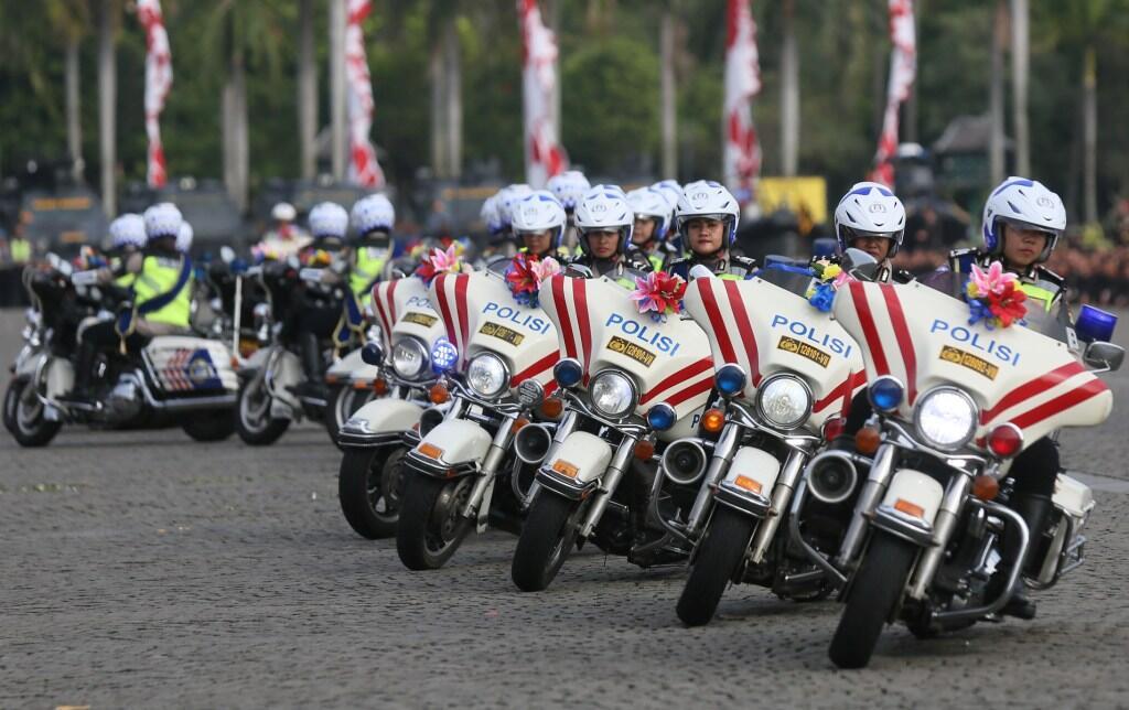 Jokowi Ingatkan Polri Buang Budaya Koruptif