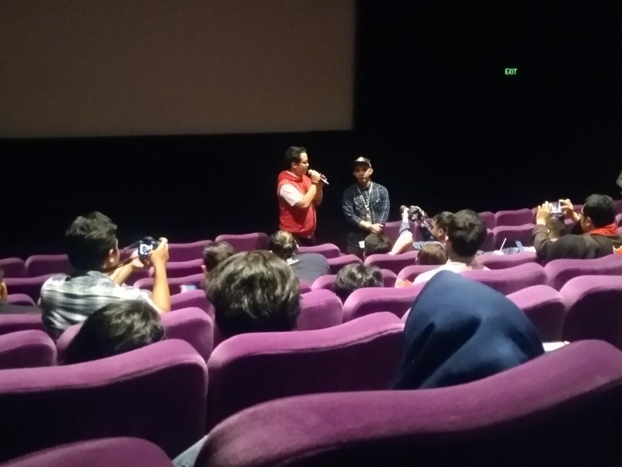 [FR]Serba Merah dan Hitam di KASKUS Movie Night Out, Ant-Man and The Wasp