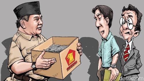 Target Rp 10 Triliun untuk Prabowo
