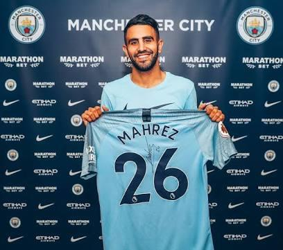 RESMI: Manchester City Boyong Riyad Mahrez