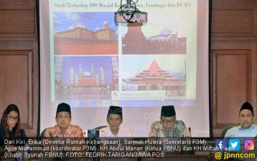 Survei Masjid Terindikasi Radikal, P3M Punya Rekaman
