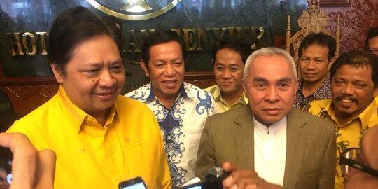 Diusung Gerindra, Isran Noor dukung Jokowi-Airlangga di Pilpres 2019