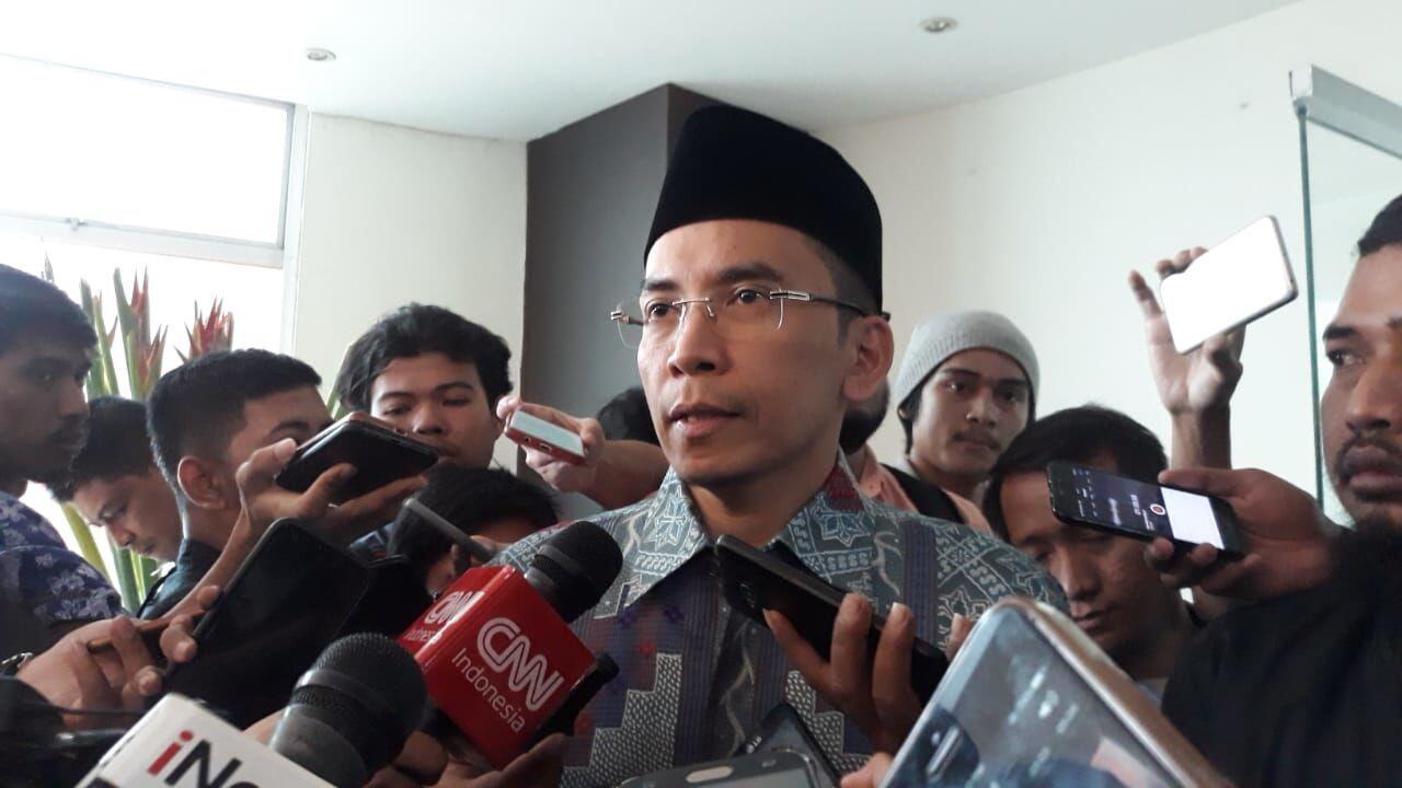 Namanya Masuk Kandidat Cawapres Jokowi, TGB: Suatu Kehormatan Besar