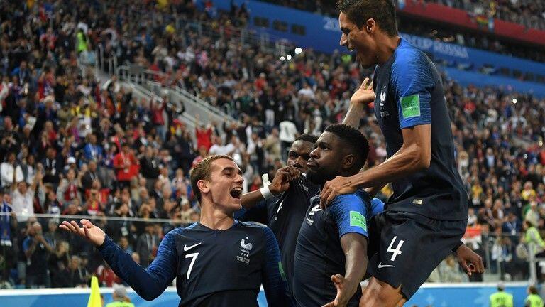 Babak II Semifinal Piala Dunia 2018: Gol Umtiti Bawa Prancis ke Final