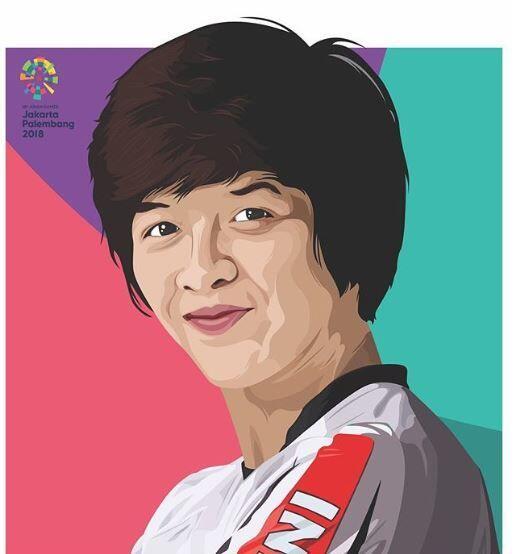 Asian Games 2018: Elga Kharisma, Ratu BMX Indonesia