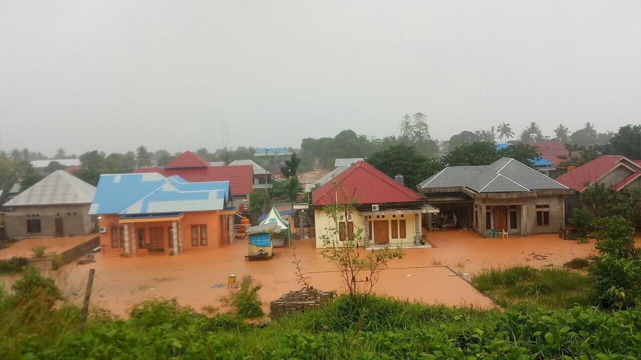 Kabupaten Pulau Talibau Dilanda Banjir