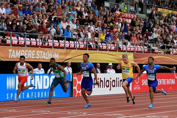 Sprinter Muda Indonesia Catat Sejarah di Kejuaraan Dunia
