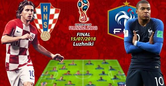 [HT] Rekor/Pencapaian yang digapai Timnas Croatia(Kroasia).