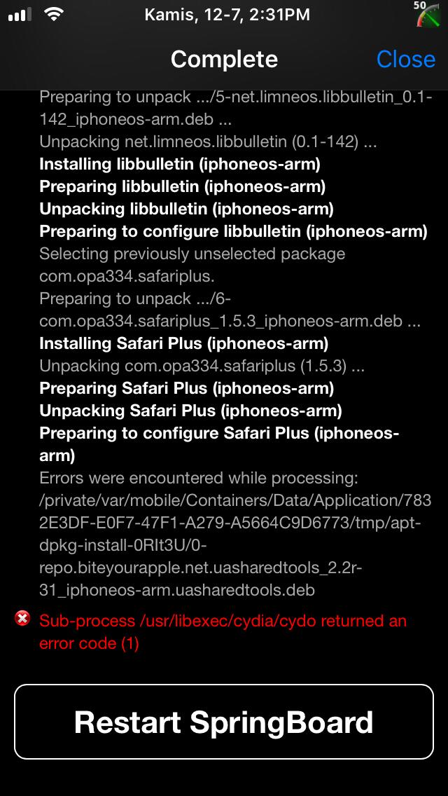 All About Jailbreak / UN-Jailbreak iOS & Troubleshooting Cydia