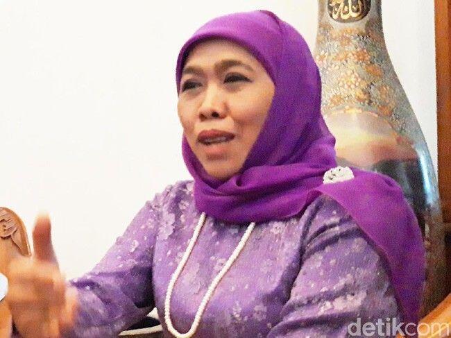 Khofifah: Insya Allah Relawan Muslimat NU Ikut Saya di Pilpres