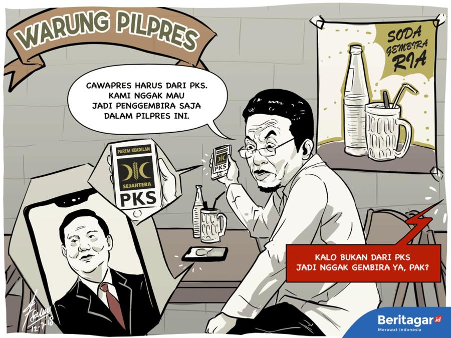 Pokoknya cawapres untuk Prabowo harus dari PKS