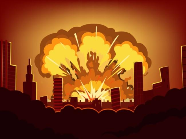 Ledakan Keras di Grand Wijaya Berasal Dari Tabung Gas