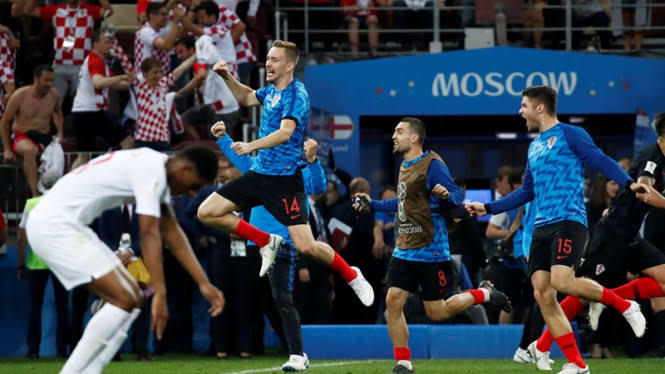 Final Piala Dunia 2018 France Vs Kroasia