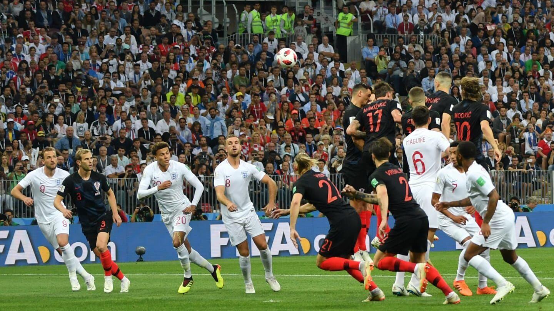 Babak Pertama: Inggris Unggul 1-0 atas Kroasia